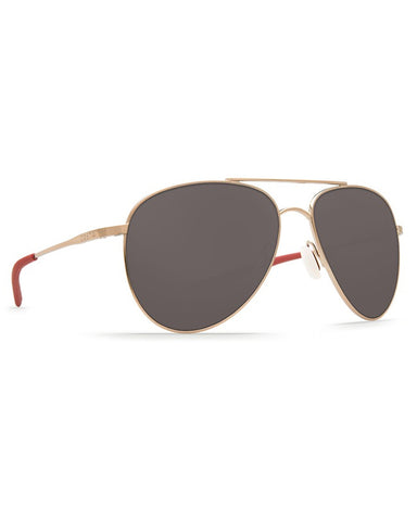 Cook Gray Mirror Sunglasses - Rose Gold