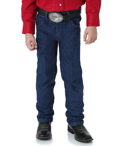 Boys Prewashed Cowboy Cut Original Fit Jeans - Husky