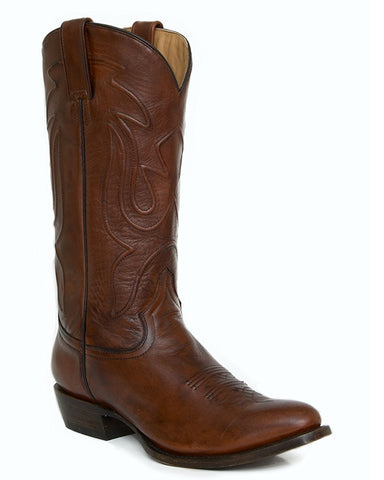 Mens James Antique Burnished Boots