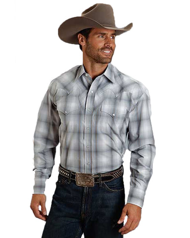 Men's Sterling Ombre Long Sleeve Western Shirt