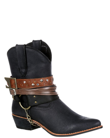 Womens Crush Accessory Bootie Boots