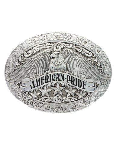 Antiqued American Pride Buckle