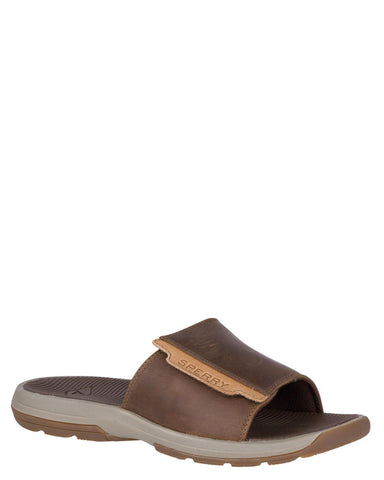 Men's Whitecap Slides - Brown