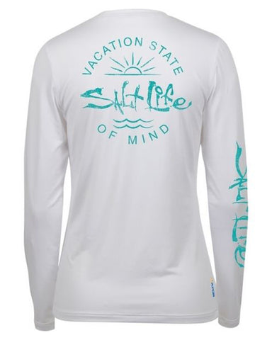 Women's State Of Mind Performance T-Shirt - White