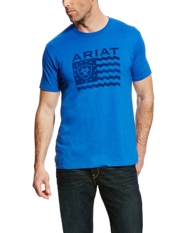 Men's Old Glory T-Shirt - Blue