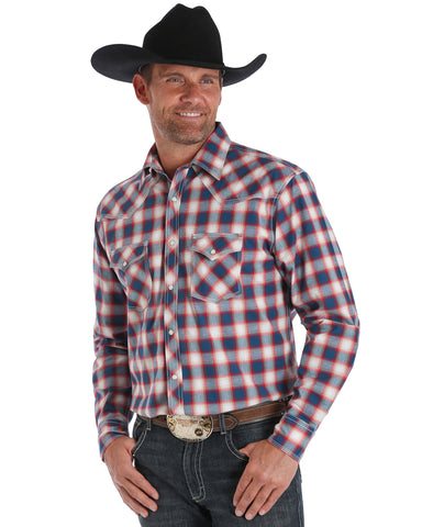 Men's 20X Competition Advanced Comfort Plaid Shirt - Berry
