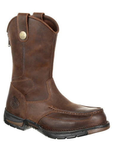Men's Athens Steel-Toe Pull-On Boots