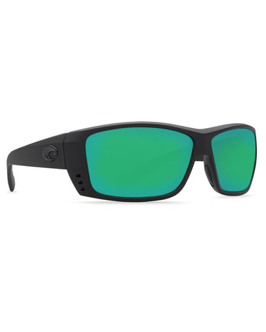 Cat Cay Green Mirror Sunglasses