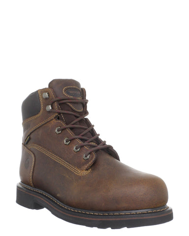 "Men's Brek 6"" Steel-Toe Waterproof Lace-Up Boots"