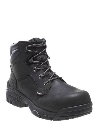 Mens Merline Comp Toe Lace-Up Boots