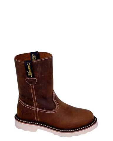Kid's Duke Wellington Boots - Brown
