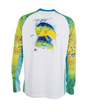 Men's Phaser Performance Long Sleeve T-Shirt - White