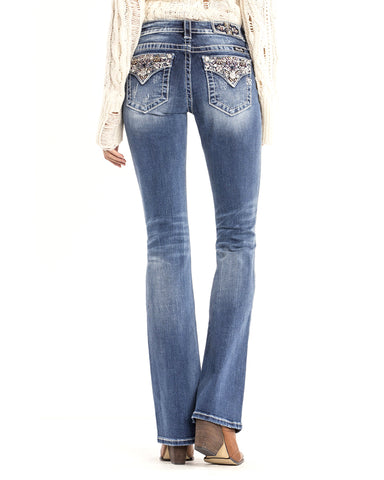 Women's Enchanted Beauty Boot Cut Jeans