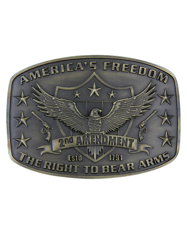 2nd Amendment Heritage Buckle