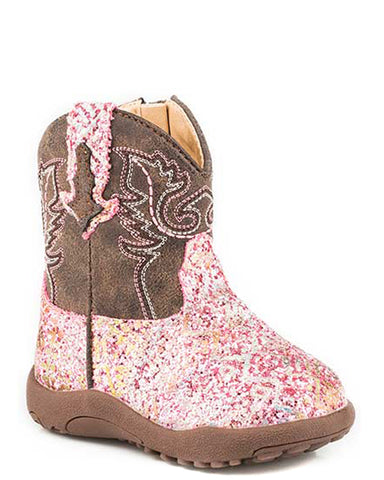 Infant's Southwest Glitter Boots
