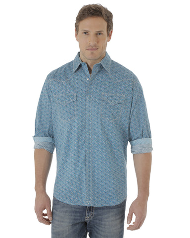 Men's 20X Advance Comfort Print Long Sleeve Shirt