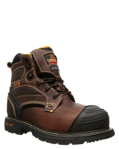 "Men's GenFlex Waterproof 6"" Composite-Toe Lace-Up Boots"