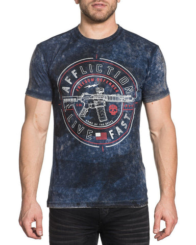 Mens Live Fast Reversible T-Shirt