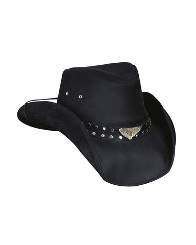 Bullhide Born To Ride Leather Hat