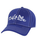Salt Life Technical Signature Ball Cap - Royal