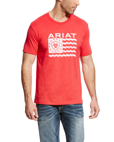 Men's Old Glory T-Shirt - Red