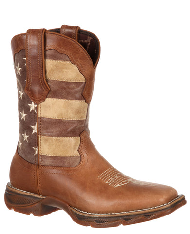 Women's Lady Rebel Faded Union Flag Boots