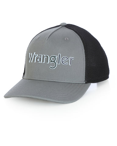 Wrangler Applique Kabel Trucker Ball Cap