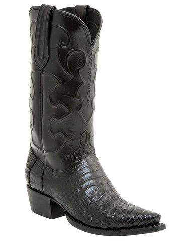 Men's Charles Crocodile Belly Boots