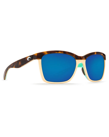 Anaa Blue Mirror Sunglasses