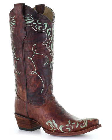 Women's Circle G Embroidered Western Boots
