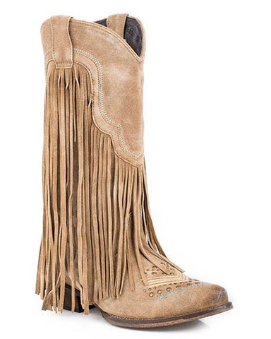 Women's On The Fringe Boots