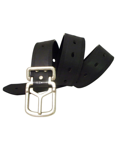 Mens Oblong Leather Belt
