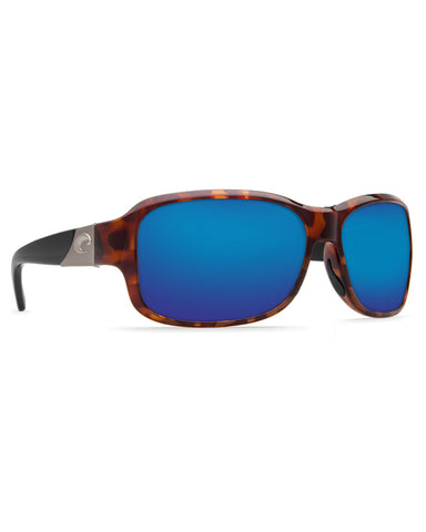 Inlet Blue Mirror Sunglasses - Retro