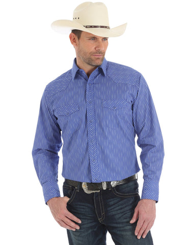 Mens Silver Edition Sport Long Sleeve Western Shirt