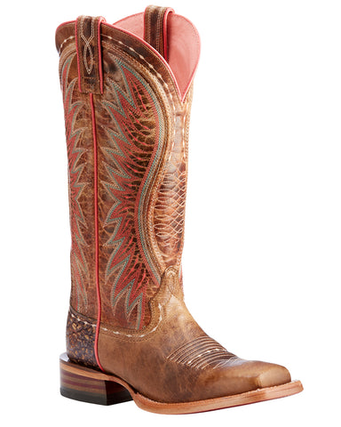 Womens Vaquera Boots - Dusted Wheat