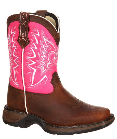 Kid's Let Love Fly Boots - Pink