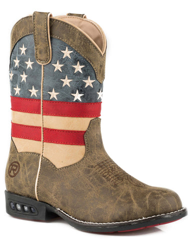 Boy's Patriot Western Boots