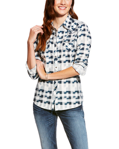Womens Lana Snap Up Western Shirt
