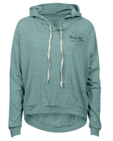 Women's Sea Tide Lightweight Hoodie - Teal