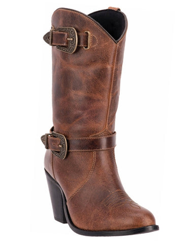 Womens Nelly Inside-Zip Boots