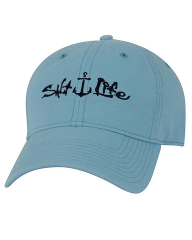 Women's Signature Anchor Ball Cap - Aqua