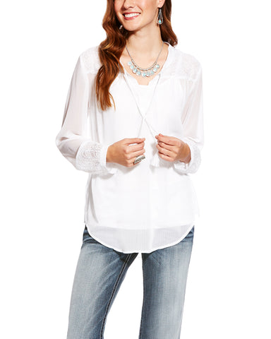 Women's Romany Long Sleeve Blouse