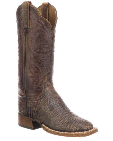 Women's Zoe Redwood Lizard Boots
