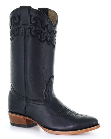 Men's Simple Stitch Western Boots
