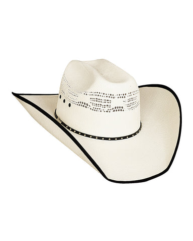 Bullhide Beer Time 20X Bangora Straw Hat