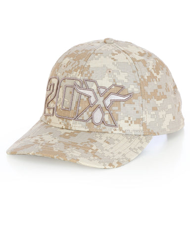 Wrangler 20X Digital Camo Print Ball Cap