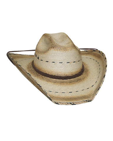 Bullhide Muggin 15X Palm Leaf Straw Hat