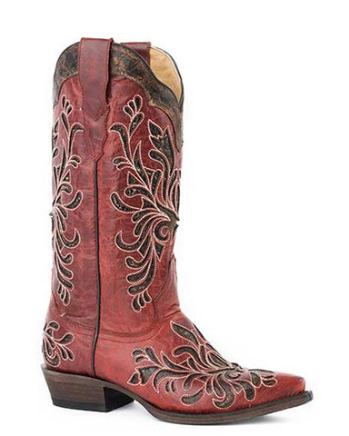 Womens Siren Crackle Boots
