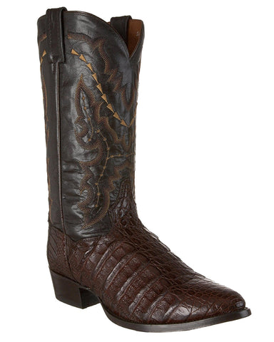 Men's Birmingham Caiman Boots - Brown