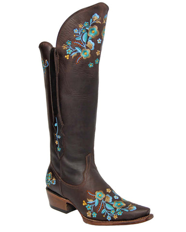 Womens Canaria Floral Boots